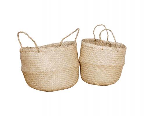 Natural Seagrass Basket