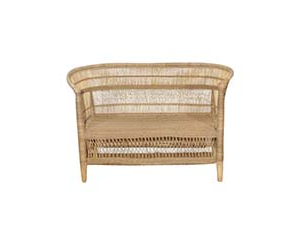 Cane Two Seater Sofa