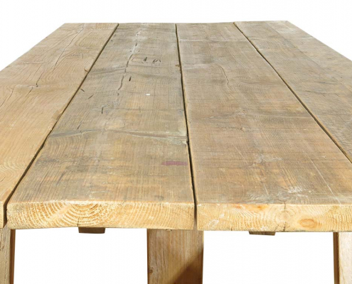 Large Rustic Trestle Table