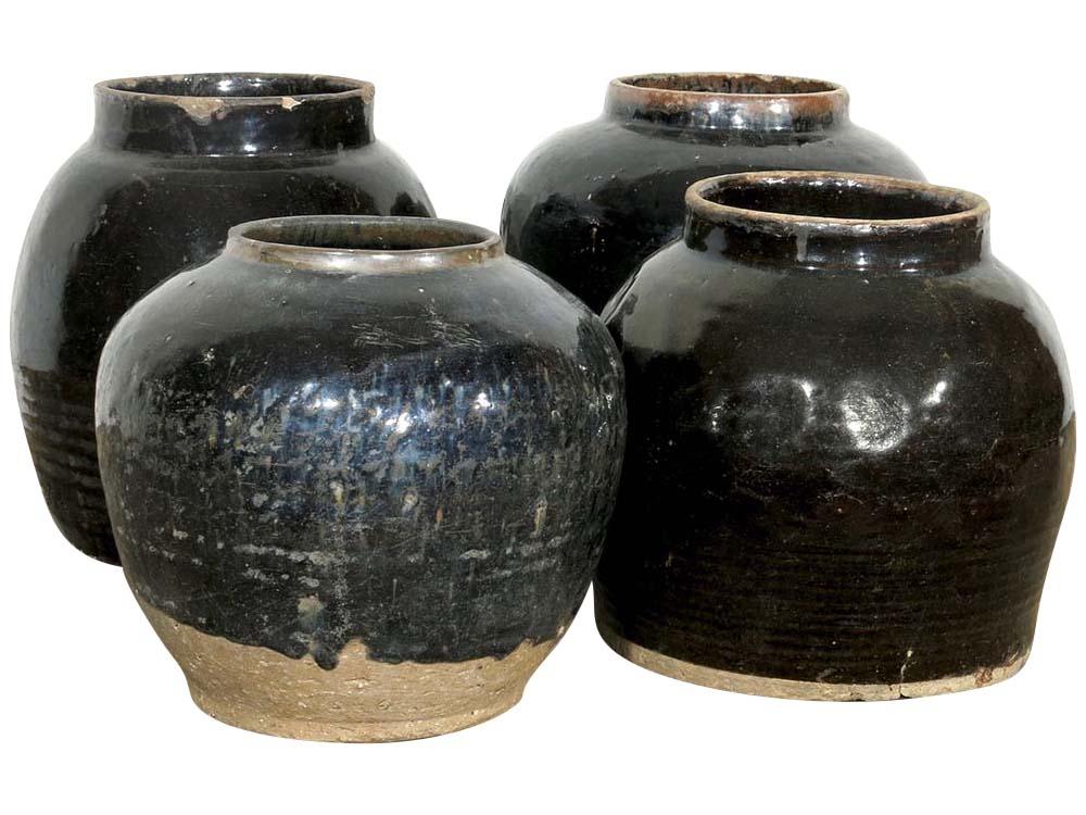 Antique Glazed Jar/Pot