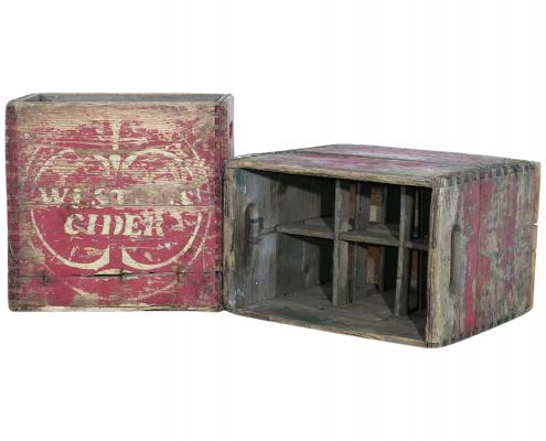 Vintage Cider Crates for Hire