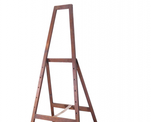 Large Wooden Vintage Easel for Hire