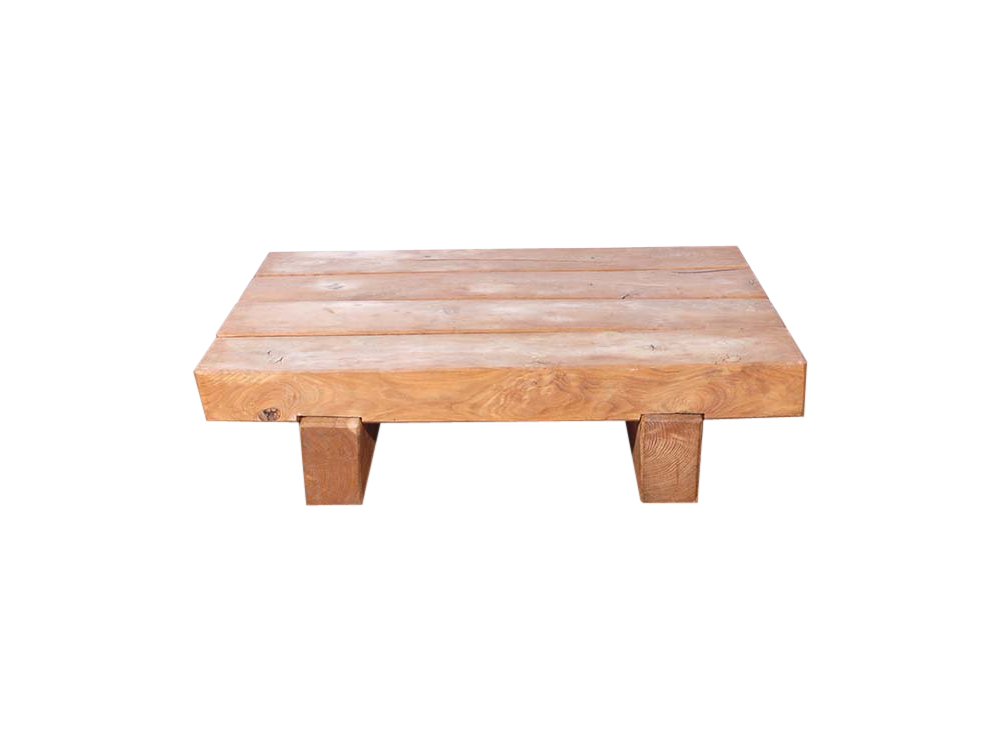 Rustic Wooden Coffee Table for Hire
