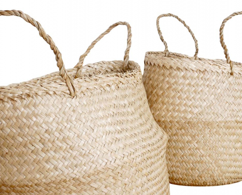 Seagrass Baskets for hire Devon, South West