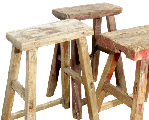 Decorative Stools for Hire Devon, South West