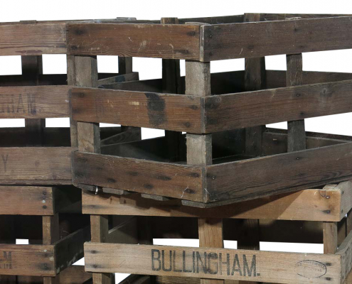 Wooden Fruit Crates for Hire