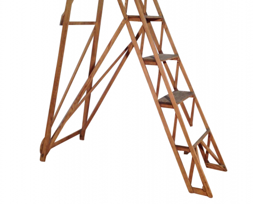 Vintage Step Ladder for Hire Scotland