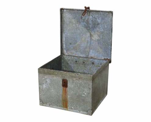 Rustic Metal Container for Hire
