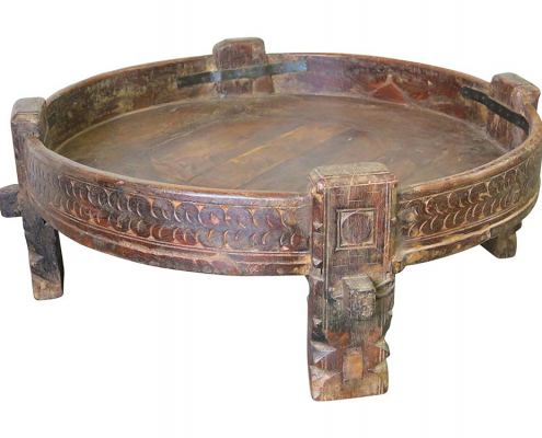 Indian Carved Table for Hire Edinburgh, Scotland