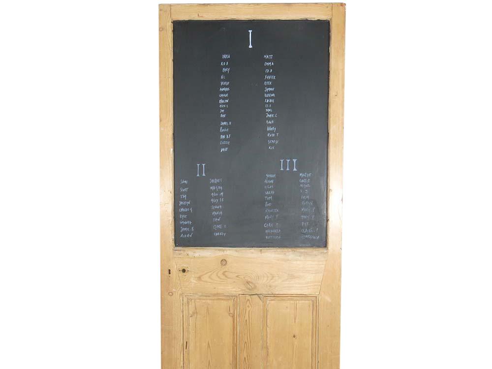 Blackboard For Hire