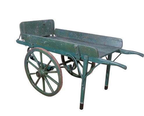 Solid Wood Hand Cart for Hire Gloucestershire, Herefordshire