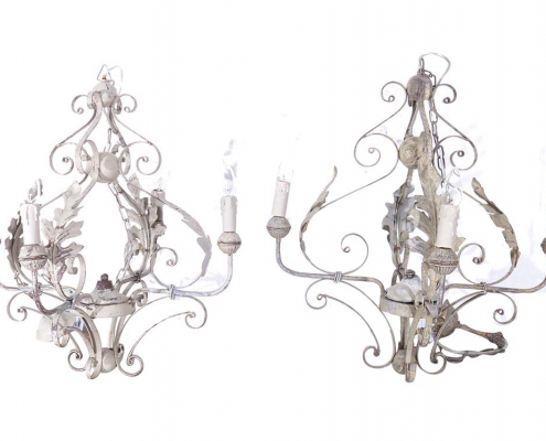 Vintage French Chandeliers for Hire