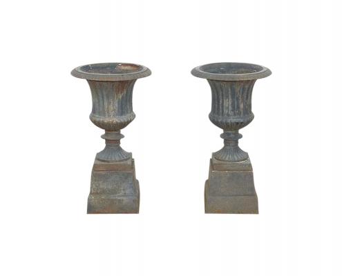 Cast Iron Vintage Urns for Hire Devon, South West