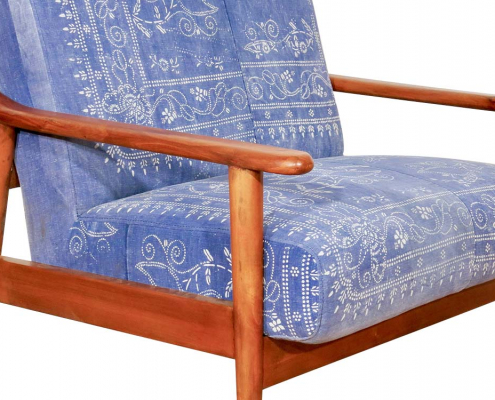 Antique Chinese Indigo Chinese Chair for Hire
