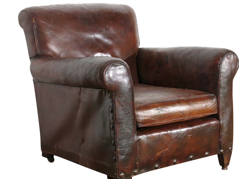 Antique leather armchair for Hire | Weddings | Events ...