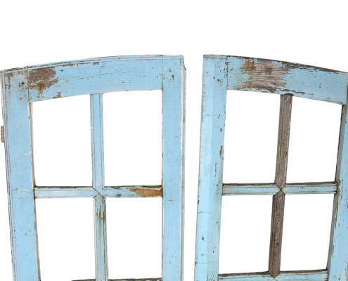 Vintage Blue Painted Windows for Hire