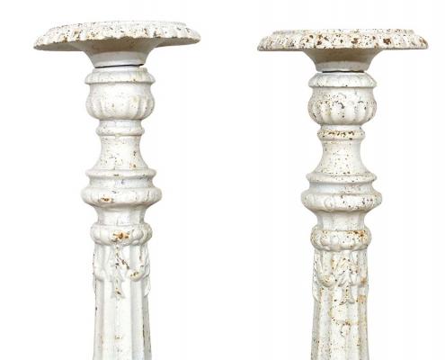 Vintage Metal Candlesticks for Hire Scotland