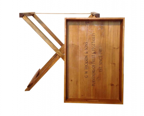Large Wooden Display Tray for Hire Scotland
