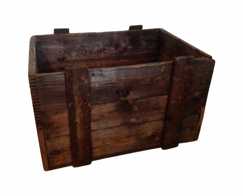 Vintage Distressed Wooden Box for Hire Scotland