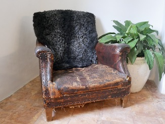 Medium Gotland Sheepskin Charcoal