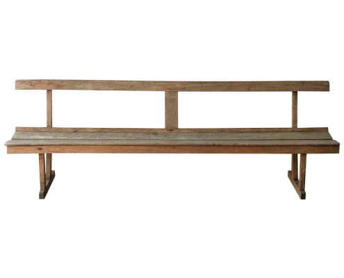 rustic Montrose Bench for Hire