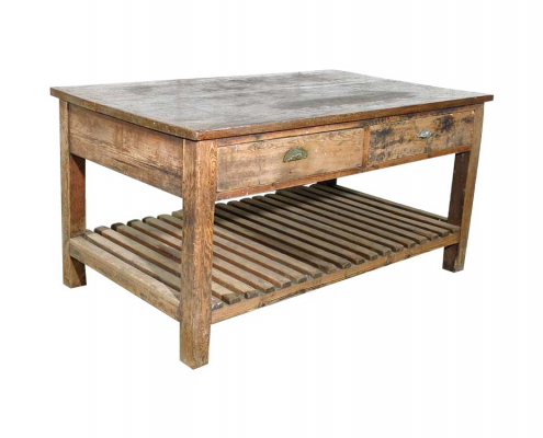 Distressed Solid Wood Table for Hire