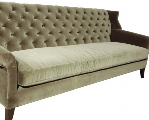 Velvet Sofa for Hire