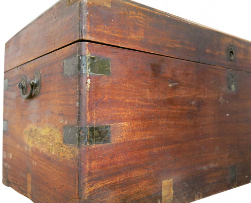 Large Wooden Trunk for Hire