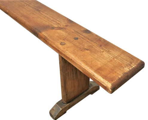 Vintage Wooden Bench for Hire Scotland