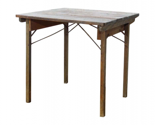 Wooden Fold Out Table for Hire