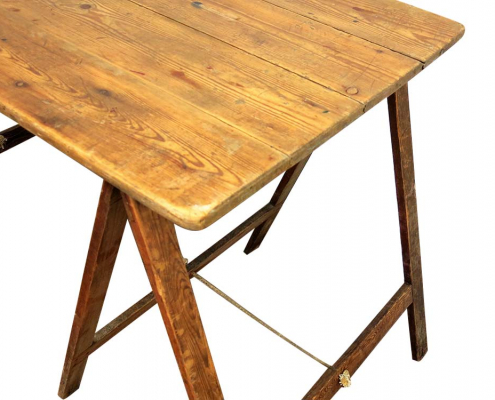 Wooden Folding Table for Hire Scotland