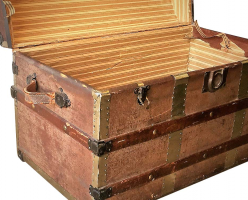 Worn Vintage Chest for Hire Scotland