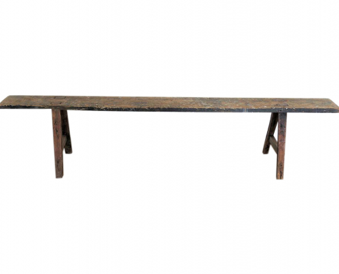 Rustic Wooden Bench Hire Scotland