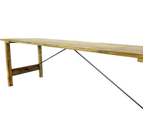 Vintage Trestle Table for Hire Scotland