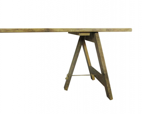 Vintage Trestle Table for Hire London