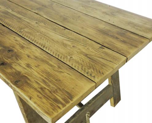 Vintage Trestle Table for Hire London