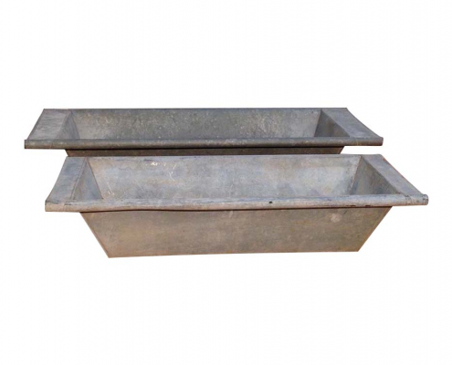 Vintage Zinc Troughs for Hire