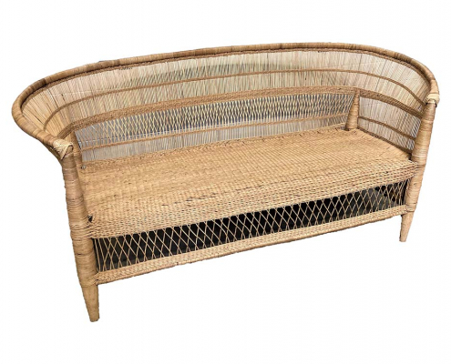 Rustic Cane Sofa for Hire Scotland