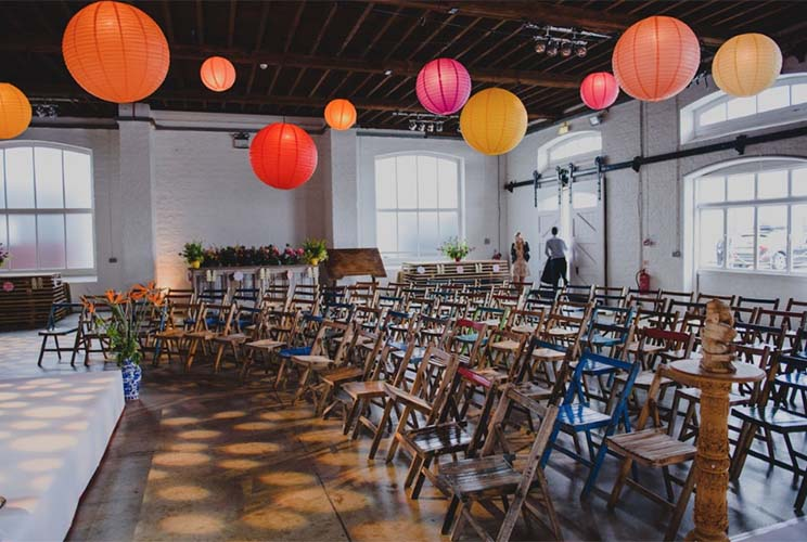 Furniture Hire for Colorful Fusion Wedding