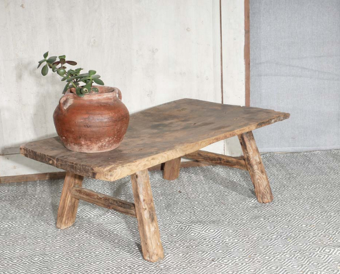 Rustic Elm Coffee Table