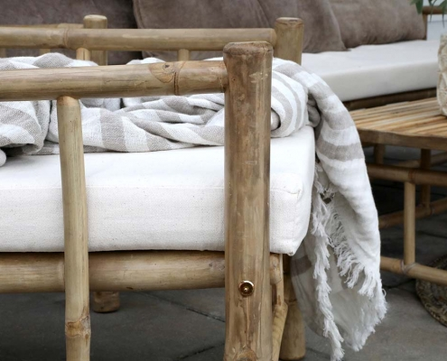Bamboo Sofa for Hire